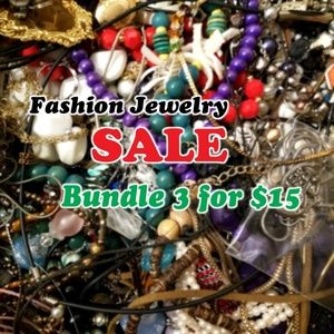 3 for $15 Fashion Jewelry